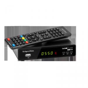 Tuner DVB-T2 H.265 HEVC Kruger&Matz