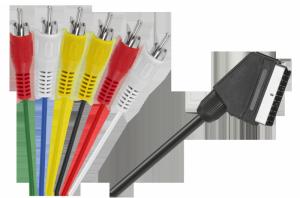 Kabel EURO - 6 x RCA 1,2m