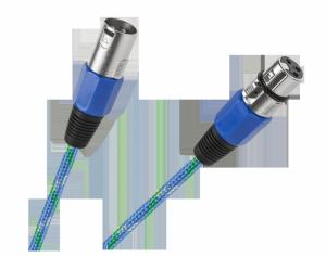 Kabel mikrofonowy CANON wtyk-gniazdo 5m
