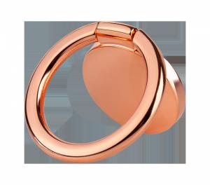 Uchwyt uniwersalny typu pierścień do telefonu różowe złoto