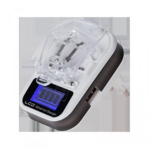 Ładowarka procesorowa REBEL do baterii Li-ion/Li-poly LCD USB