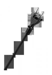 Przewód w gumie H05RR-F OW 2x1mm2 300/500V 5m