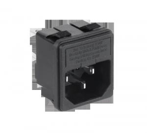 Wtyk AC 3PIN komput.obudowa+bezp.