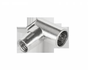 Wtyk SAT F kątowy szybkozłączny WKS106(śr.kabla6,6...6,9mm)-TELMOR