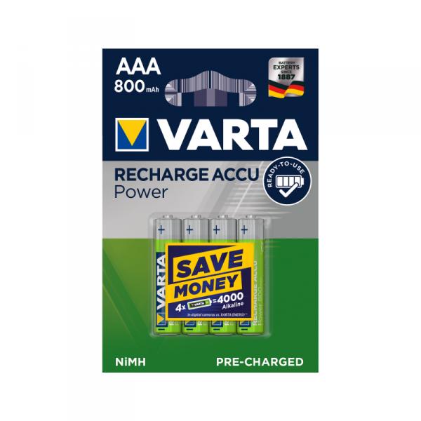 Akumulator VARTA AAA 800mAh 4szt./bl.