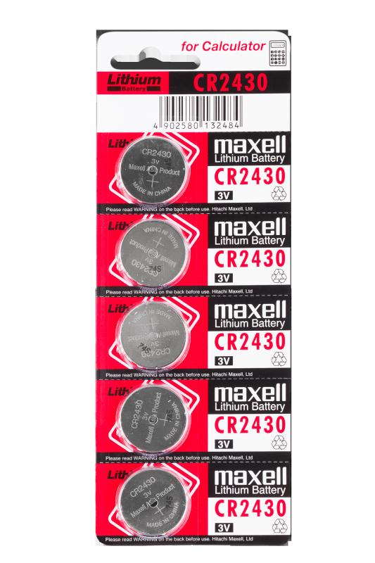 Bateria Maxell CR2430 5szt./bl