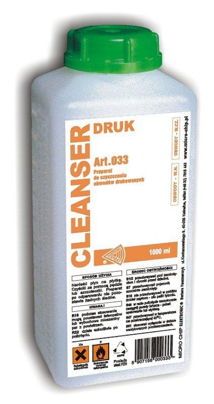 Cleanser Druk 1l. MICROCHIP ART.033