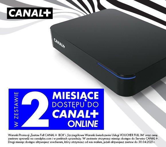 Canal+ BOX 4k z AndroidBox i pakietem TV na start 2-mce