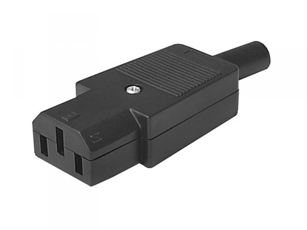 Gniazdo AC 3PIN na kabel komput.LX1035
