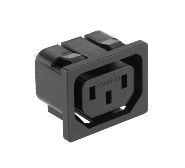 Gniazdo AC 3PIN komputerowe montaż