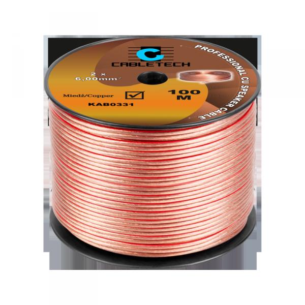 Kabel głośnikowy 6mm