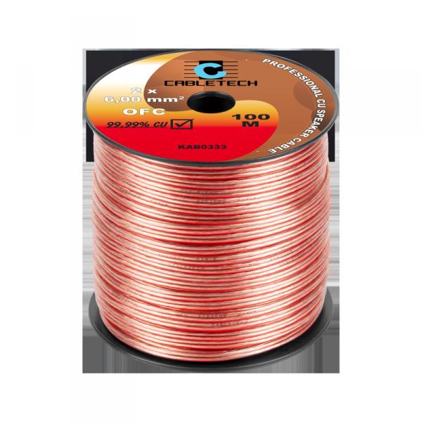 Kabel głośnikowy OFC 6mm