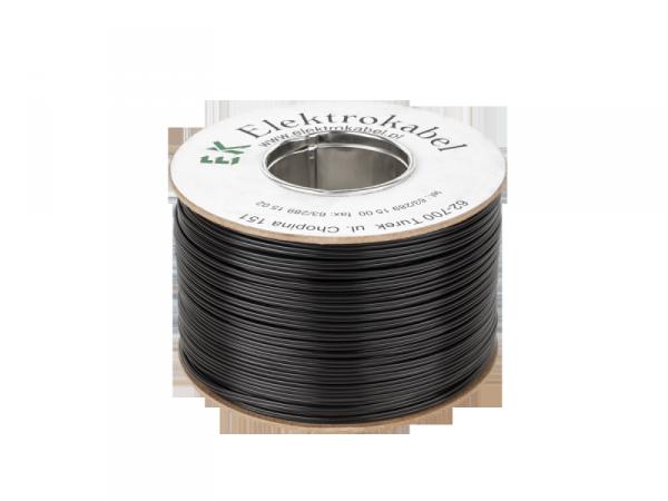 Kabel głośnikowy SMYp 2 x 0,22mm czarny 300m