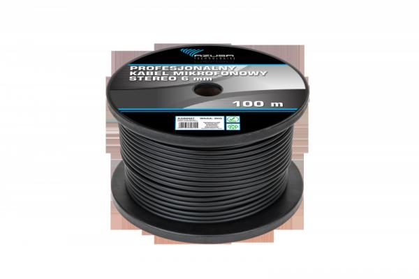 Kabel mikrofonowy stereo 6mm profesjonalny