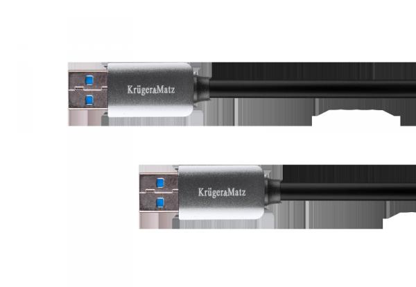 Kabel USB3.0 wtyk - wtyk  1m Kruger&Matz