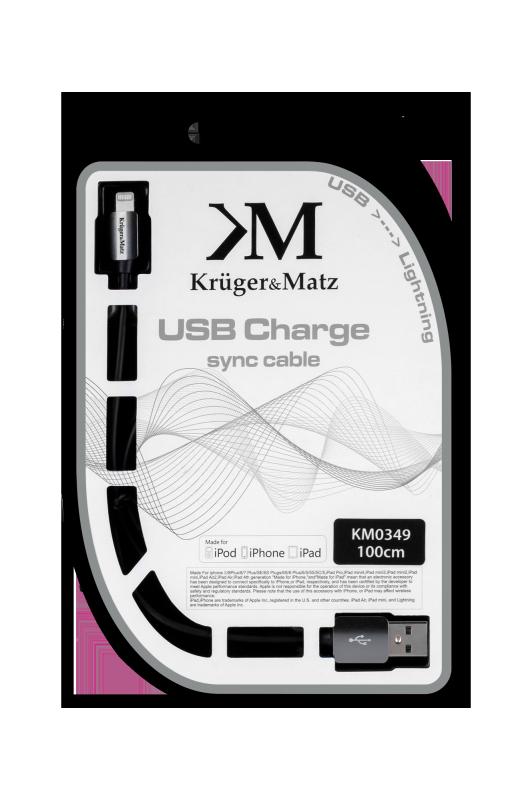 Kabel USB A/M for Apple C48/M  1.0m   Kruger&Matz