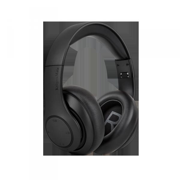 Bezprzewodowe słuchawki nauszne Kruger&Matz model Street 3 Wireless, kolor czarny