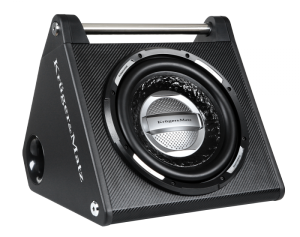"""Kruger&Matz Boombox samochodowy 12"""" ze wzmacniaczem KMI300X"""