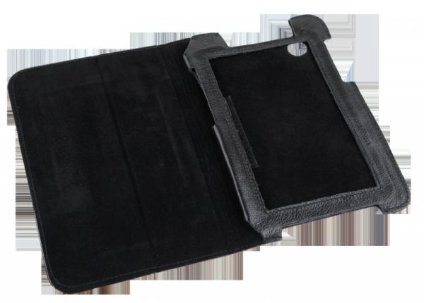 Etui czarne dedykowane do Samsung Galaxy Tab P3100 (skóra naturalna)