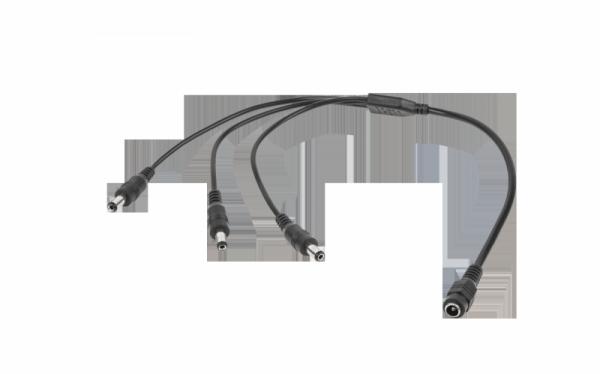 Kabel 1 x Gn.DC 2,1/5,5-3x wtyk DC 2,1/5,5 LX3323
