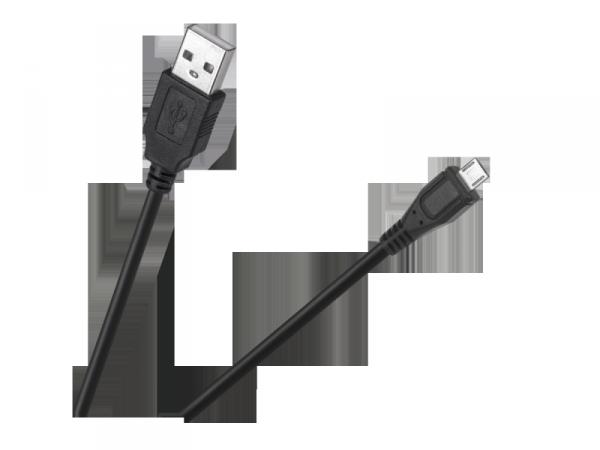 Kabel wtyk USB typ A - wtyk mikro USB 0.5m