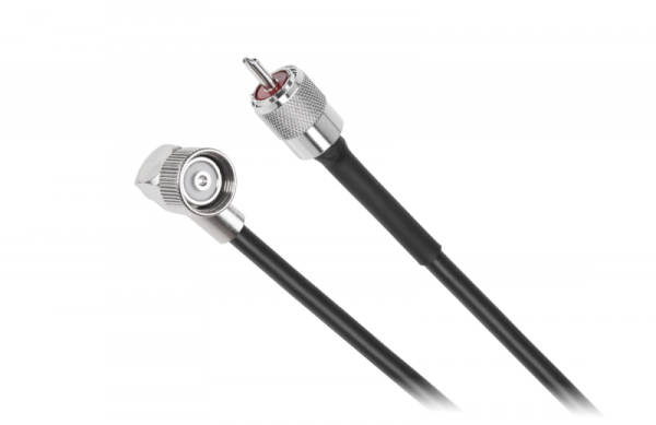 Kabel do anteny samochodowej CB z wtykiem LC27 i wtykiem UHF 6m