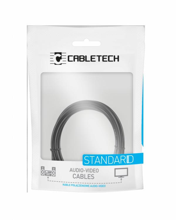 Kabel HDMI-HDMI 1.8m  2.0  4K  ethernet Cabletech standard