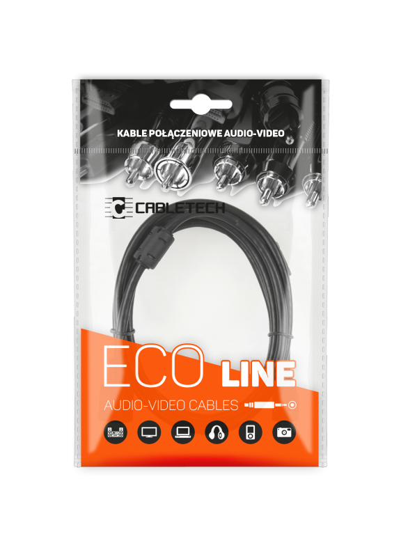 Kabel 1RCA-1RCA 0.5m Cabletech Eco-Line