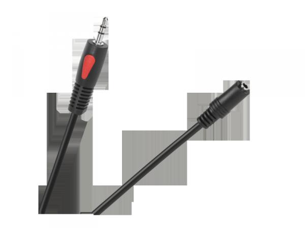Kabel jack 3.5 wtyk-gniazdo 3.0m Cabletech Eco-Line