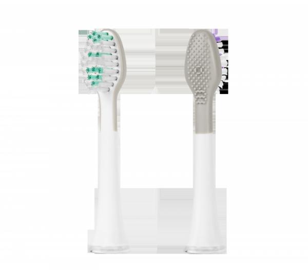 Główki do szczoteczek TEESA SONIC 2 szt w blistrze, medium