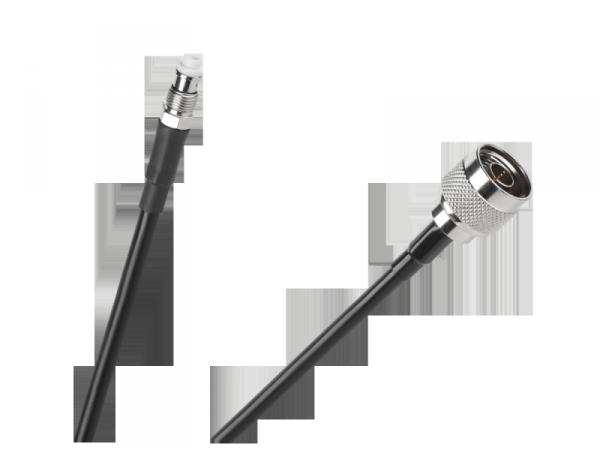 Kabel przyłącze H155 15m gniazdo FME - wtyk N