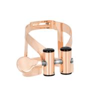 Ligaturka do klarnetu basowego Vandoren M/O pink gold