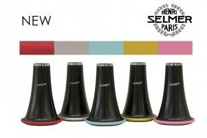 Pierścienie, 5 kolorów w komplecie, do czary głosowej klarnetu B Henri Selmer Paris Prologue