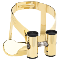 Ligaturka do saksofonu tenorowego Vandoren M/O pozłacana