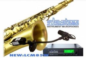 Mikrofon bezprzewodowy do saksofonu SD Systems LCM 85 W(ireless)