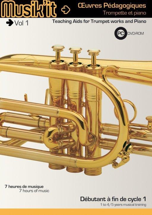 Płyta DVD Henri Selmer Paris Musik'it trąbka vol. 1