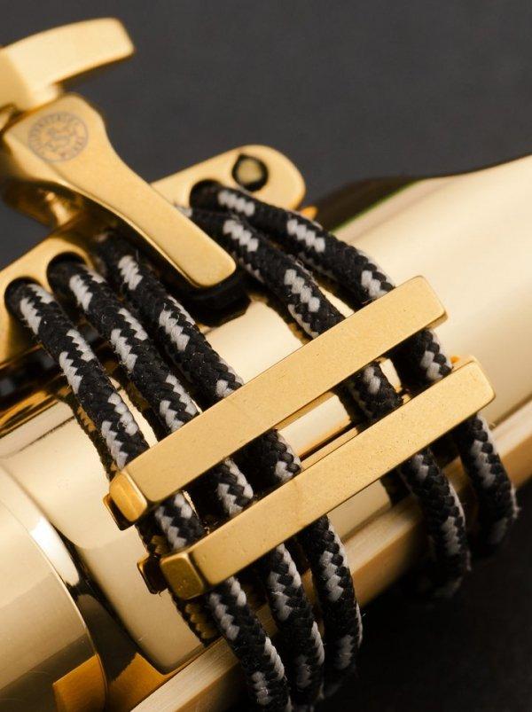 Ligaturka do saksofonu tenorowego Silverstein CRYO4 Gold