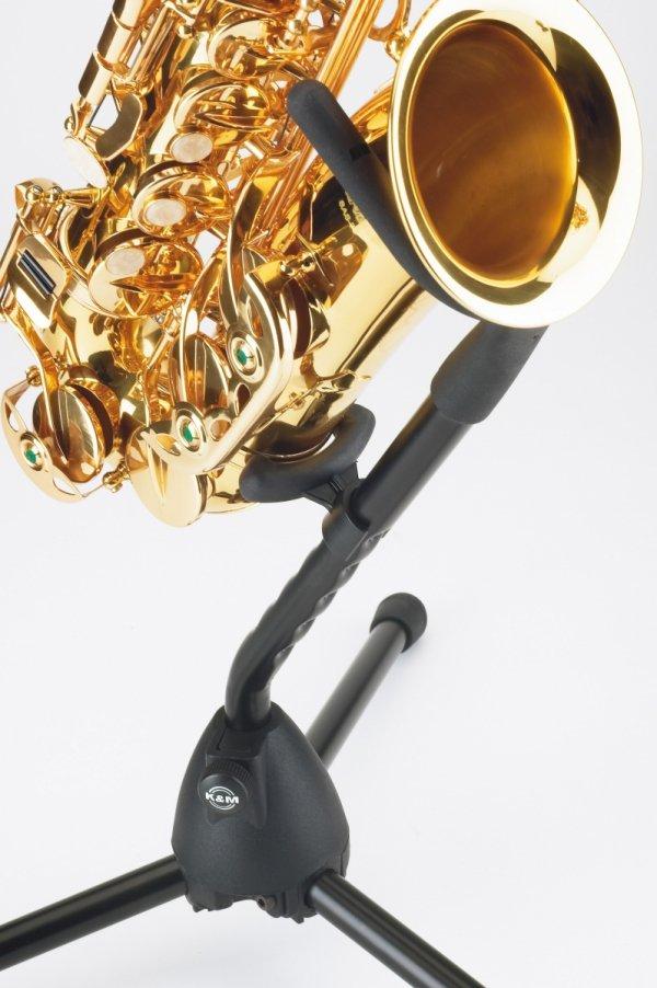 Stojak do saksofonu altowego/tenorowego K&M 14300