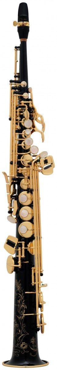 Saksofon sopranowy Henri Selmer Paris Super Action 80/Serie II NG GO black lacquer