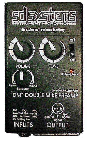 Mikrofony do klarnetu B/A SD Systems LCM 82