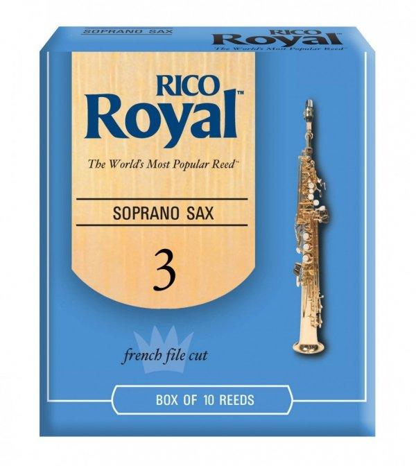 Stroiki do saksofonu sopranowego Rico Royal