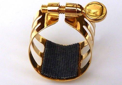Ligaturka do saksofonu altowego Ligaphone CL.AS Gold-plated