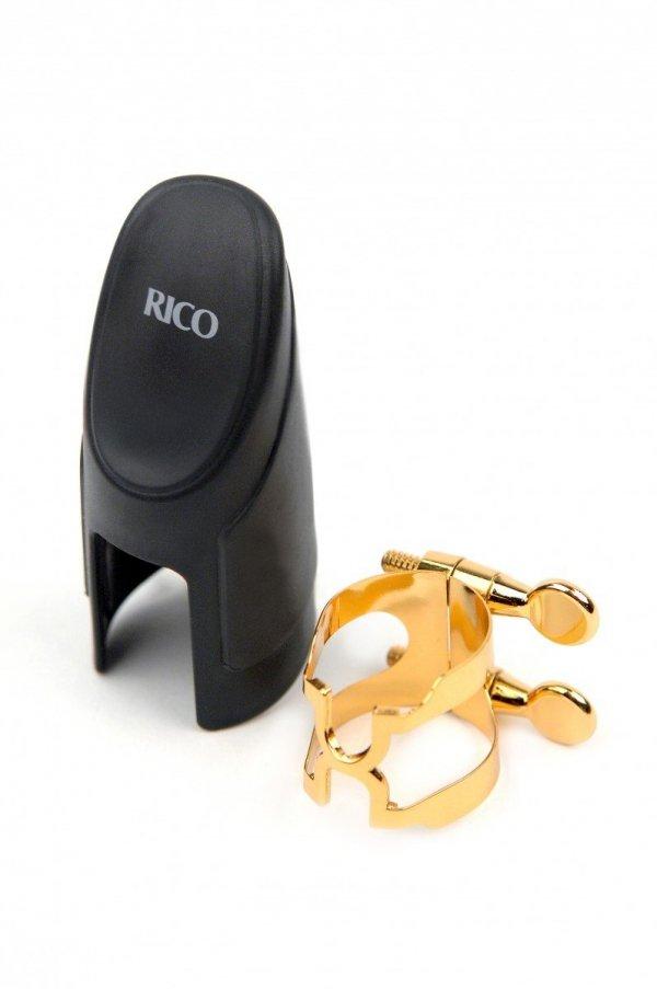 Ligaturka do saksofonu sopranowego Rico H pozłacana