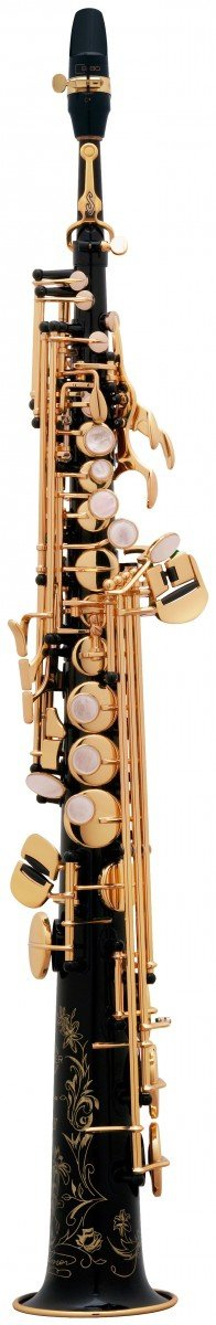 Saksofon sopranowy Henri Selmer Paris Serie III NG GO black lacquer