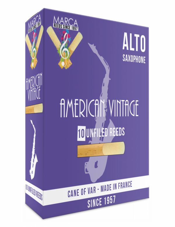 Stroiki do saksofonu altowego Marca Jazz Series American Vintage Unfiled (10 szt.)