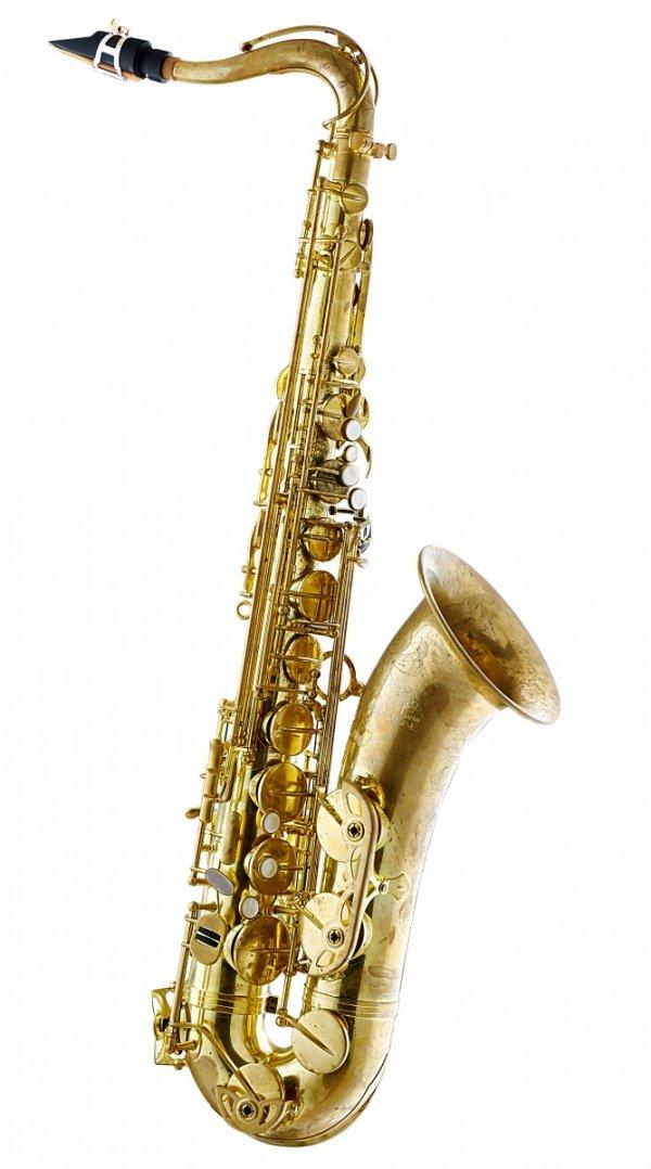 Saksofon tenorowy Forestone bez lakieru, zdobiony