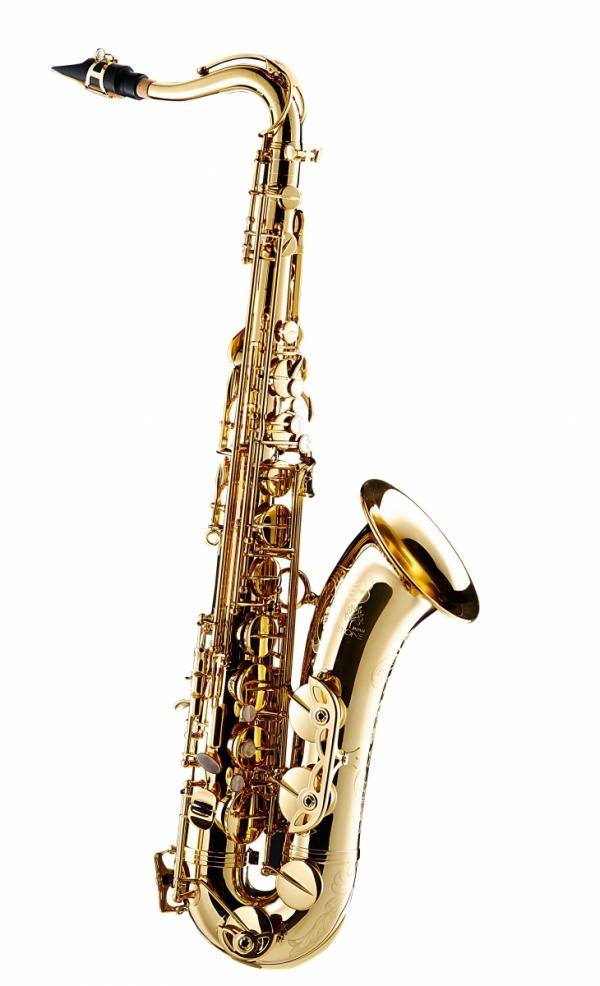 Saksofon tenorowy Forestone lakierowany, zdobiony