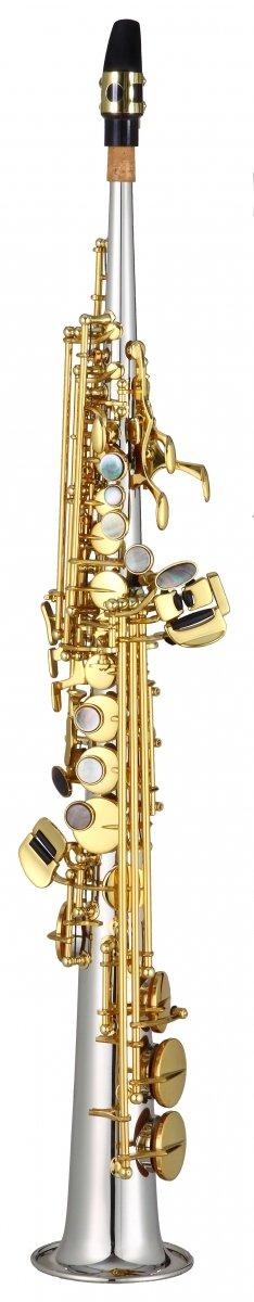 Saksofon sopranowy LC Saxophone SU-704CL clear lacquer