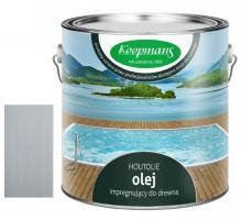 Olej Koopmans Houtolie 5 L szary chorwacki 040