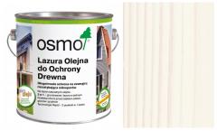 Osmo Lazura Olejna do Ochrony Drewna 900 biała 0,75 l